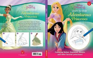 Disney Princess  Learn to Draw Adventurous Princesses PDF