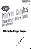 Comics Buyers Guide Marvel Comics Checklist   Price Guide PDF