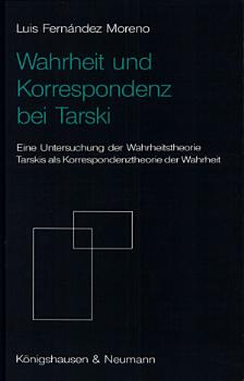 Wahrheit und Korresponde n z bei Tarski PDF