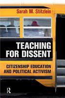 Teaching for Dissent PDF
