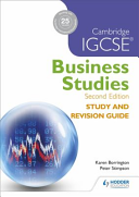 Cambridge IGCSE Business Studies Study and Revision Guide PDF