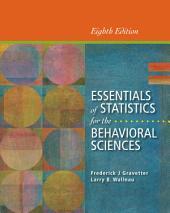 Essentials of Statistics for the Behavioral Sciences: Edition 8