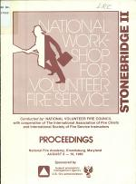 National Workshop for the Volunteer Fire Service