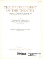 The Development of the Theatre