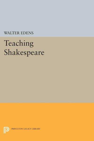 Download Teaching Shakespeare Book