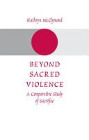 Beyond Sacred Violence PDF