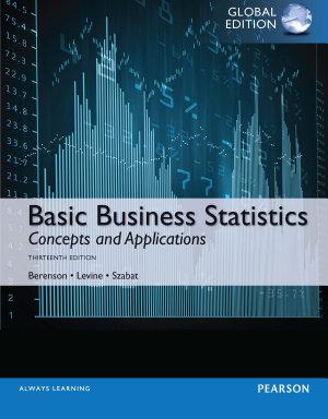 Basic Business Statistics  Global Edition PDF