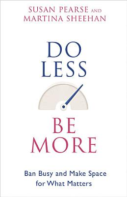 Do Less Be More PDF