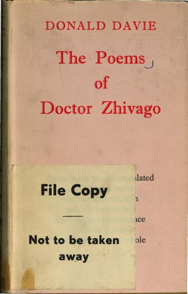 Download The Poems of Dr  Zhivago Book
