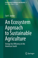 An Ecosystem Approach to Sustainable Agriculture