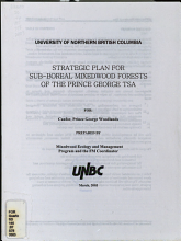 Strategic Plan for Sub boreal Mixedwood Forests of the Prince George TSA PDF