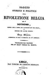 Saggio storico e politico sulla revoluzione belgia