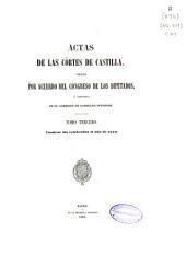 Actas de las Cortes de Castilla...: Contiene las celebradas el año de 1570, Volumen 3