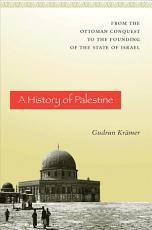 A History of Palestine PDF