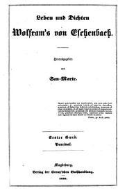 Parcival. Rittergedicht... Aus dem Mittelhochdeutschen zum ersten Male übersetzt von San Marte