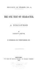 The One Test of Character