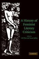 A History of Feminist Literary Criticism PDF