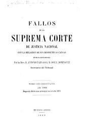 Fallos de la Corte Suprema de Justicia de la Nación: con la relación de sus respectivas causas ..., Volumen 27
