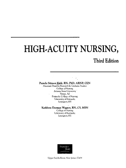 High Acuity Nursing PDF