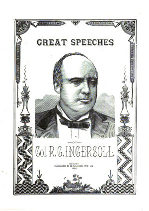 Great Speeches of Col  R G  Ingersoll PDF