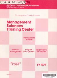 Catalog of Training Courses PDF