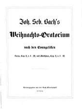 Johann Sebastian Bach's Werke: Weihnachts-Oratorium. 5,2