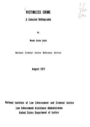 Victimless Crime PDF