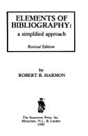Elements of Bibliography PDF