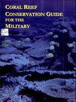 Coral Reef Conservation Guide for the Military PDF