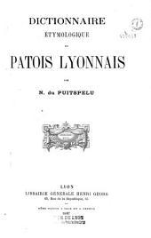 Dictionnaire étymologique du patois lyonnais
