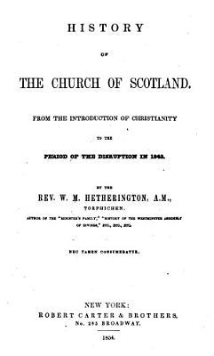 History of the Church of Scotland PDF