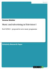 Music and Advertising in Television I: Pod NiTES© - proposal for new music programme