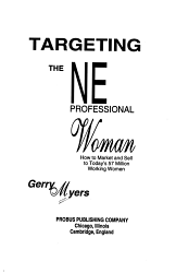 Targeting the New Professional Woman PDF