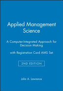 Applied Management Science