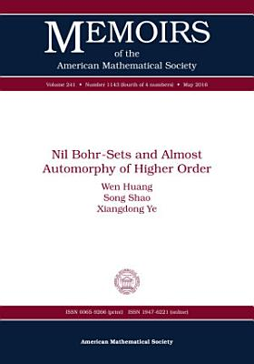 Nil Bohr Sets and Almost Automorphy of Higher Order