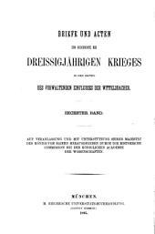 Bd. Vom Reichstag 1608 bis zur Gründung der Liga, bearb. von F. Stieve