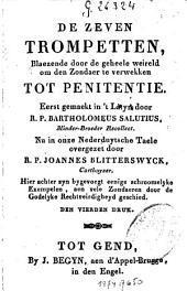 De zeven trompetten, blaezende door de geheele weireld om den zondaer te verwekken tot penitentie