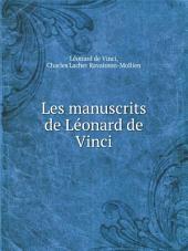 Les manuscrits de L?onard de Vinci