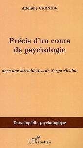 Précis d'un cours de psychologie