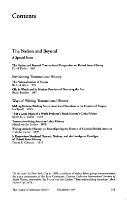 The Journal of American History PDF