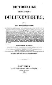 Dictionnaire du Luxembourg
