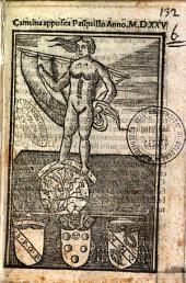 Carmina apposita Pasquillo anno 1525