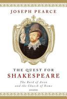 The Quest for Shakespeare PDF