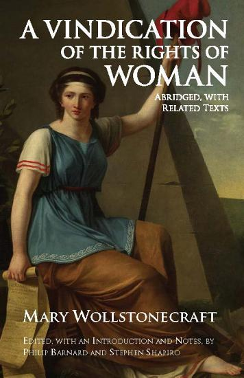 A Vindication of the Rights of Woman PDF
