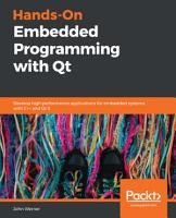 Hands On Embedded Programming with Qt PDF