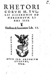 Rhetorica Ad Herennium: lib. IV.