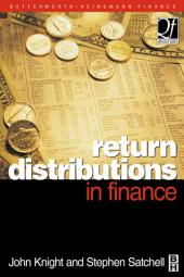 Return Distributions in Finance