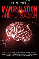 Manipulation and Persuasion PDF