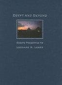 Egypt and Beyond PDF