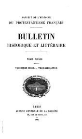 Bulletin historique et littéraire: Volumes33à34